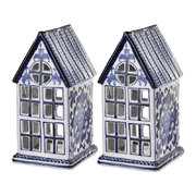 porcelain-house-ornaments-set-of-2