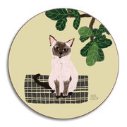 anne-bentley-cats-coaster-siamese