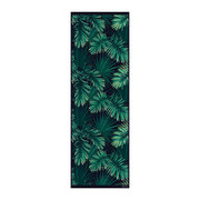 jungle-vinyl-runner-black-green-66x198cm