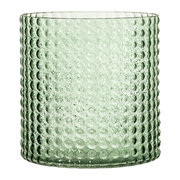 dotted-cylindrical-glass-vase-green-16-5cm