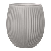 ridged-glass-toothbrush-holder-grey