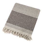 tassel-edged-cotton-throw-brown-160x130cm