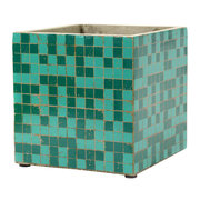 marie-mosaic-green-square-plant-pot-22cm