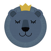 blue-lion-face-vinyl-placemat