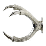 brass-claw-wall-mount-silver