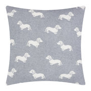 knitted-dachshund-pillow-50x50cm-grey