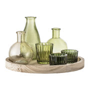 green-glass-votive-collection-with-wooden-tray