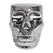 mexico-skull-stool-side-table-silver