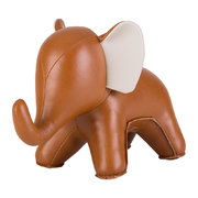elephant-abby-bookend-tan-wheat