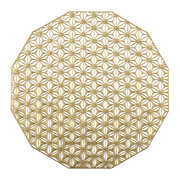 pressed-vinyl-kaleidoscope-round-placemat-brass