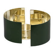 infinity-candle-holder-dark-green-small