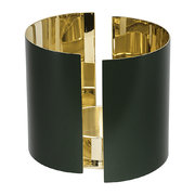 infinity-candle-holder-dark-green-large