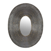 speckled-wire-framed-oval-mirror-pewter-gold