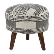printed-stripe-round-stool-grey-natural