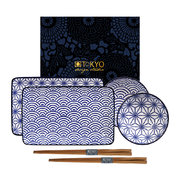 nippon-blue-sushi-plate-set-wave-star