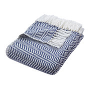 herringbone-100-recycled-throw-navy
