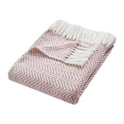 herringbone-100-recycled-throw-rose