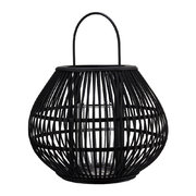 apple-striped-lantern-black