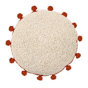 circle-washable-cushion-48cm-terracotta