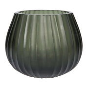 ridged-glass-tealight-holder-grey