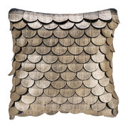 leather-scalloped-cushion-35x35cm-gold