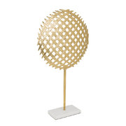 racket-ornament-gold-marble