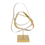 entwined-loops-gold-ornament
