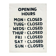 david-shrigley-tea-towel-opening-hours