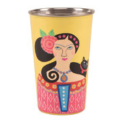 frida-kahlo-stainless-steel-tumbler-yellow