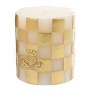 check-pillar-candle-gold-8cm