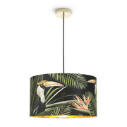 birds-of-paradise-drum-ceiling-light-large