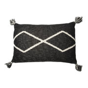 oasis-knitted-cushion-30x48cm-black