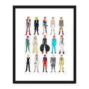 outfits-of-bowie-fashion-print-40x50cm