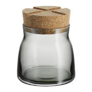 bruk-clear-jar-with-cork-lid-grey-small