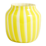 wide-juice-striped-glass-vase-yellow