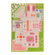 childrens-3d-play-rug-green-play-house-100x150cm