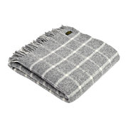 pure-new-wool-chequered-throw-grey