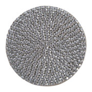 woven-beaded-coaster-set-of-4-silver