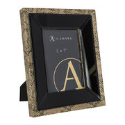 snake-photo-frame-5x7-gold