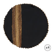 stripe-coaster-set-of-4-bronze