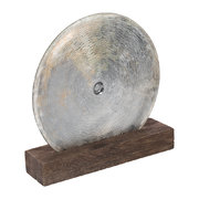 scratched-glass-disc-object
