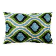 velvet-cushion-40x50cm-blue-green-oval-pattern