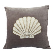 velvet-shell-cushion-grey