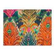 matthew-williamson-cotton-placemat-peacock-feather