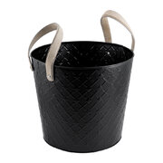 quilted-look-log-bucket-with-handles