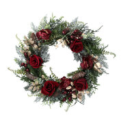 red-roses-wreath