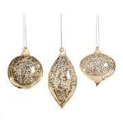 antique-effect-glass-tree-decorations-set-of-3-champagne