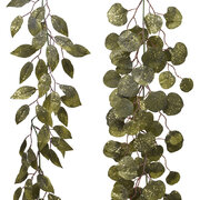 glitter-leaf-garland-set-of-2-green