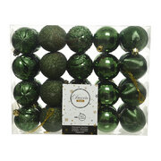 set-of-40-assorted-baubles-pine-green