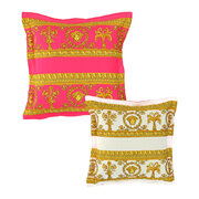 barocco-robe-double-face-reversible-cushion-pink-white-gold